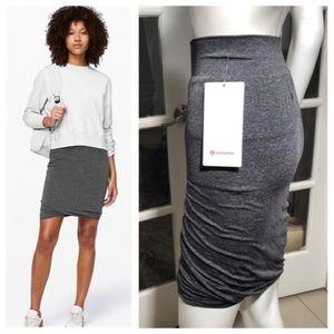 Lululemon Athletica boulevard bliss gray skirt